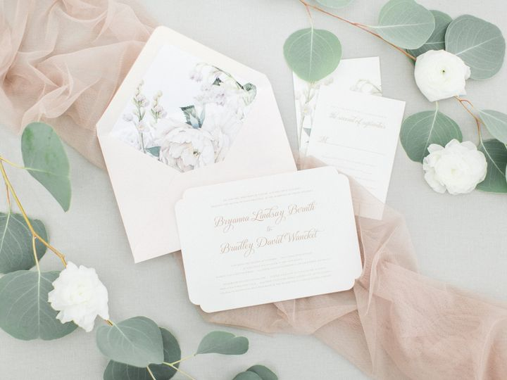 Centennial Avenue - Invitations - Grand Rapids, MI - WeddingWire