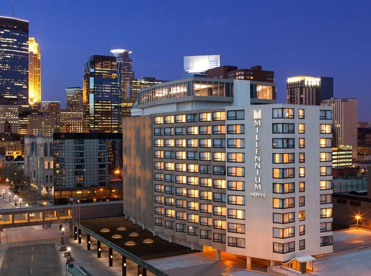 Millennium Hotel Minneapolis locatedon Nicollet Mall