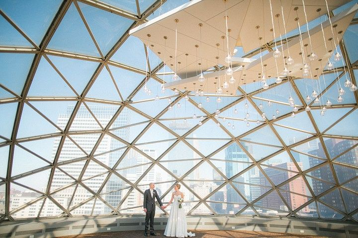 Couple under Dome