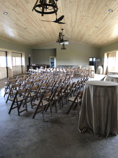 Seating for the cermony
