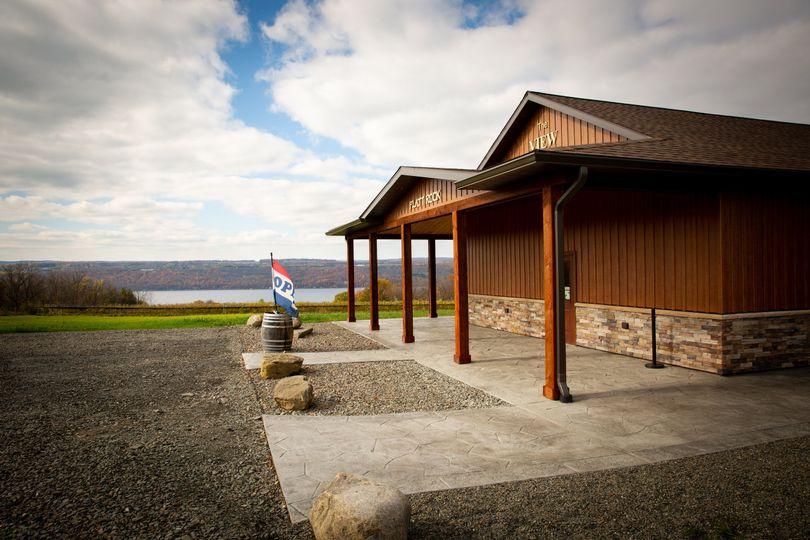 Entrance and Lake View