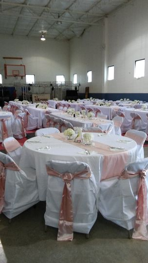 Wedding for 300 people