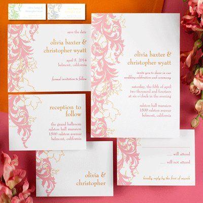 Tmx 1333987242638 ChloeBFlourish Minnetonka, MN wedding invitation