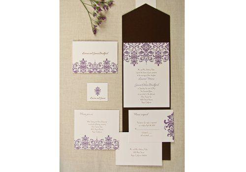 Tmx 1333987268453 BirchcraftPocket Minnetonka, MN wedding invitation