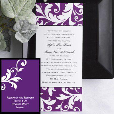 Tmx 1333987297283 DiamondCollectionBoldFiligree Minnetonka, MN wedding invitation