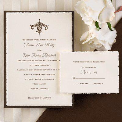 Tmx 1333987320350 Elegant Minnetonka, MN wedding invitation