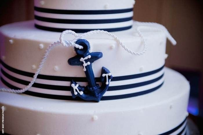 Sailor themed cake