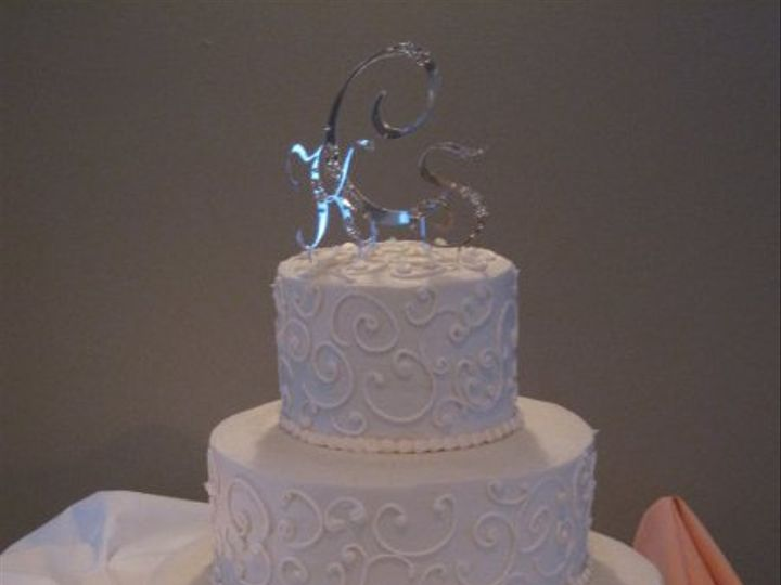 Tmx 1272764127384 Scrollcake Belmar, New Jersey wedding cake