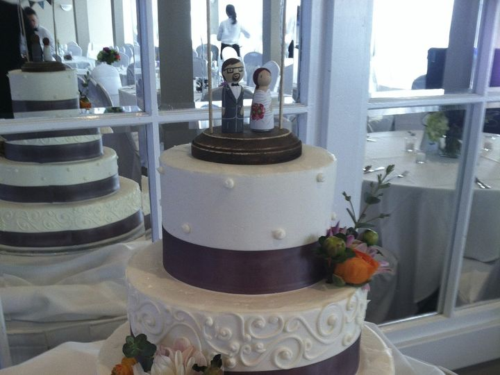 Tmx 1375192585484 Img4576 Belmar, New Jersey wedding cake