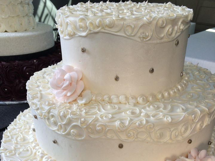 Tmx 1397694657336 Img140 Belmar, New Jersey wedding cake