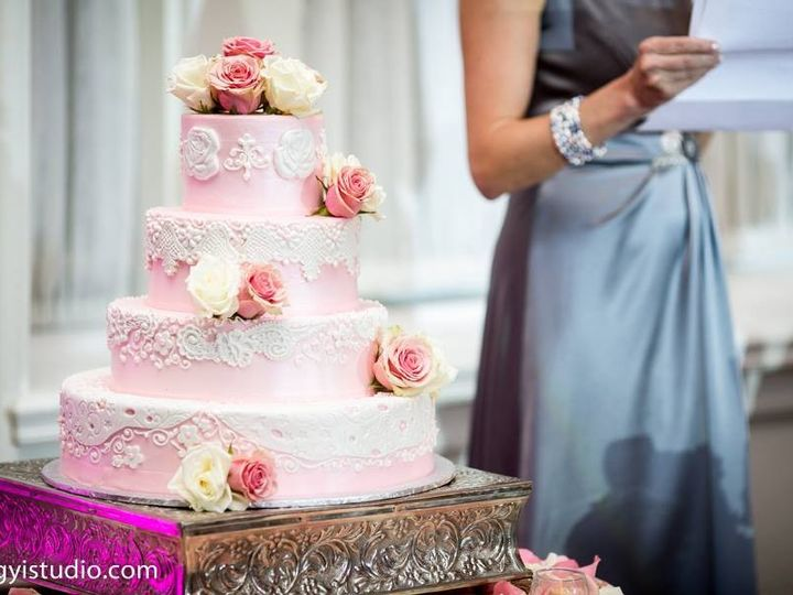 Tmx 1397735906520 Wedding Wire Pink Cak Belmar, New Jersey wedding cake