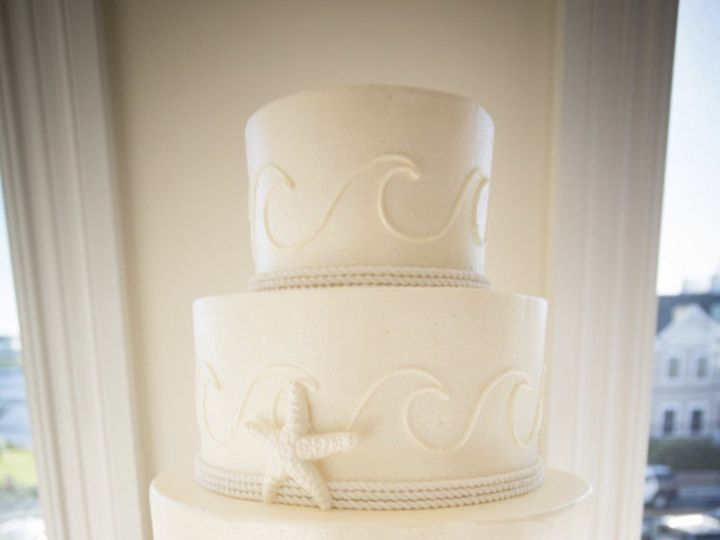 Tmx 1502850258229 Wave Design Belmar, New Jersey wedding cake
