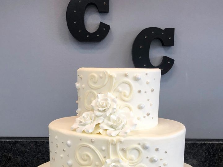 Tmx 4 2 2019 Weddingcake3 51 78755 1556915366 Belmar, New Jersey wedding cake