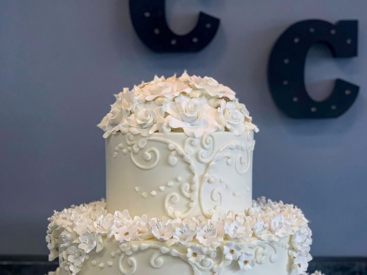 Tmx 4 25 2019 Weddingcake1 51 78755 1556915267 Belmar, New Jersey wedding cake