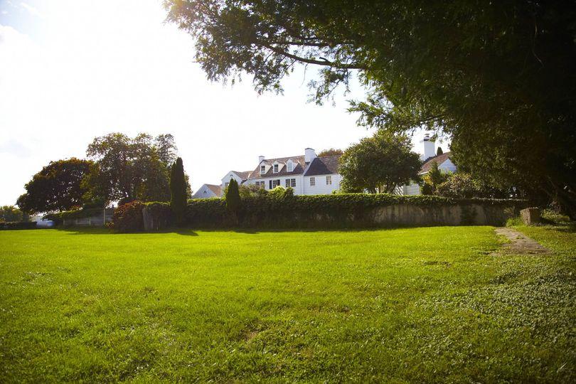 Reception lawn