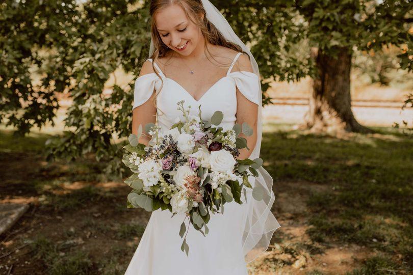 Bridal summer bouquet