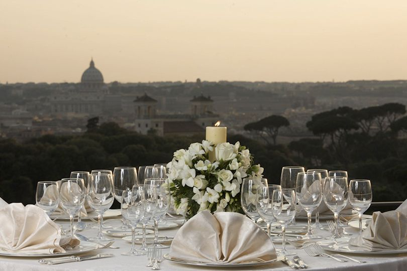 Roof top in Rome
