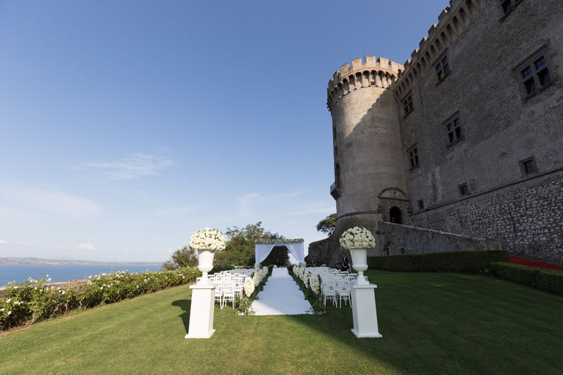Wedding in a Castle