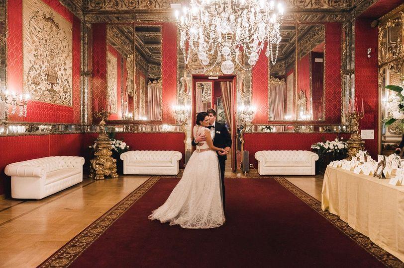 Roman Palace Wedding
