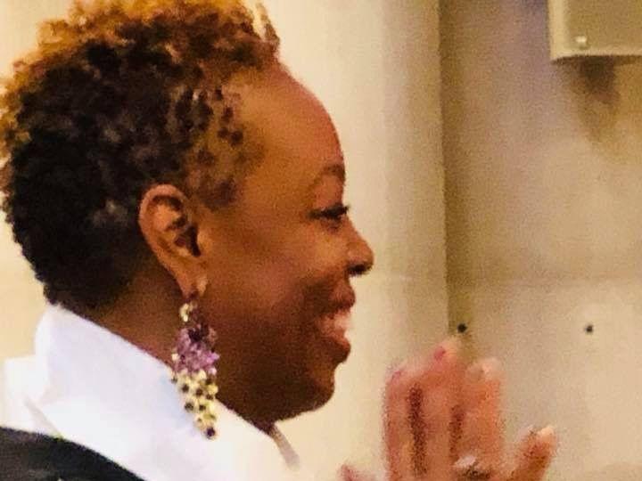 Tmx Melissa Black Robe Prayer Hands 51 1900855 159182765377787 Mount Vernon, NY wedding officiant