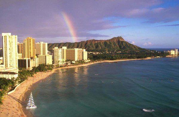 Honeymoon on one of the Hawaiian islands!