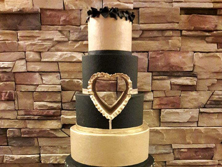 Tmx 1519055538 155c55125f70377a 1519055537 5ed0375c3cb11a11 1519055533400 5 OpenHeart Houston, TX wedding cake
