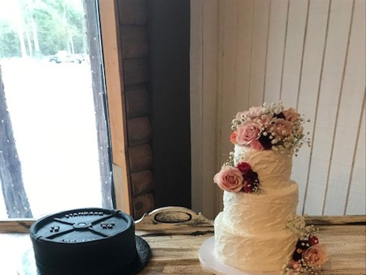 Tmx Haley Wedding 51 71855 Houston, TX wedding cake