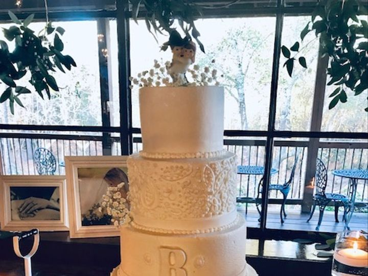 Tmx Rodgers Wedding 51 71855 Houston, TX wedding cake