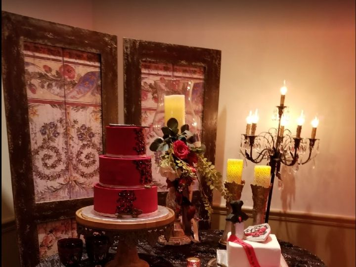 Tmx Ruiz Wedding 51 71855 Houston, TX wedding cake
