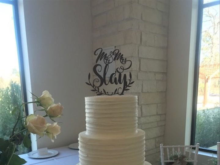 Tmx Slay Wedding 51 71855 Houston, TX wedding cake