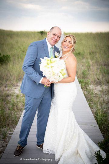 Beautiful Hamptons' wedding!
