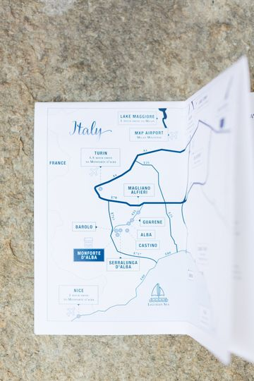 A customized guidebook for your guests
