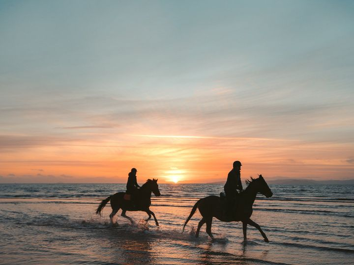 Tmx Couple Rides Horseback On A Sunset Beach 51 1062855 157667916752326 San Antonio, TX wedding planner