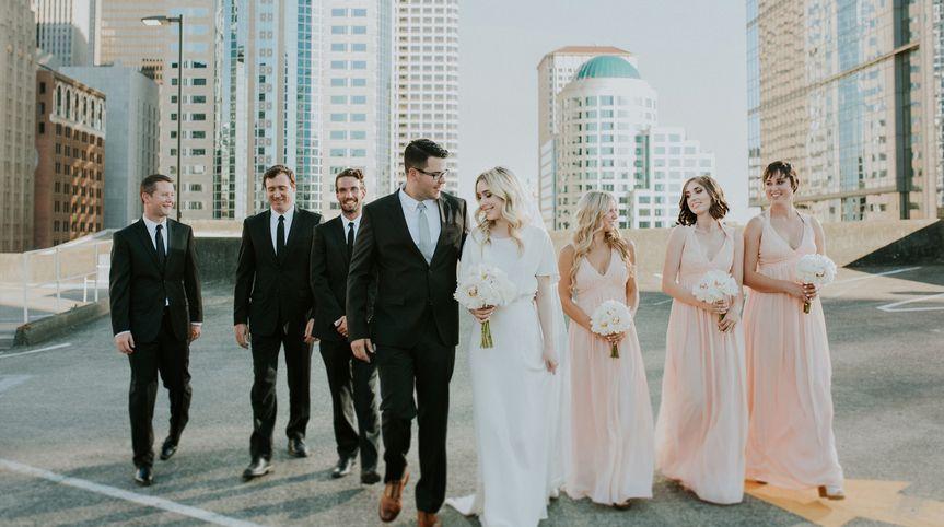 hazelwood photo seattle wedding rooftop bl