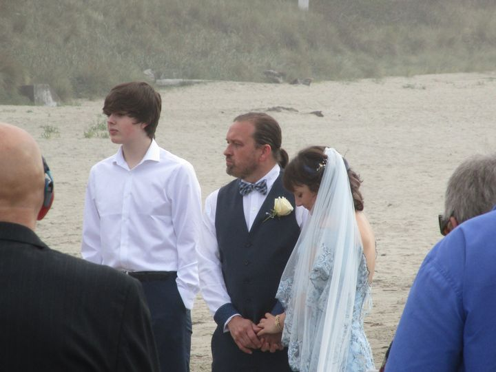 The Bride and Groom :)