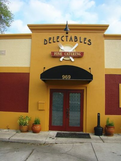 Building in Palm Harbor: Delectables Fine Catering