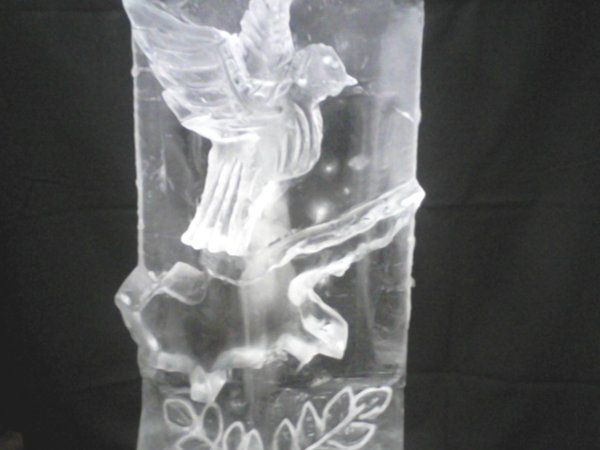 800x800 1321990778469 dovewithleavesicesculpture