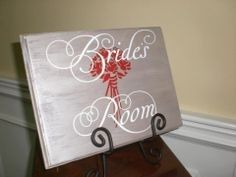Let the groom & everyone else know that the bride and her party are getting ready with an elegant,...