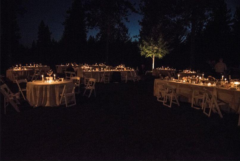 Candle Lit Reception