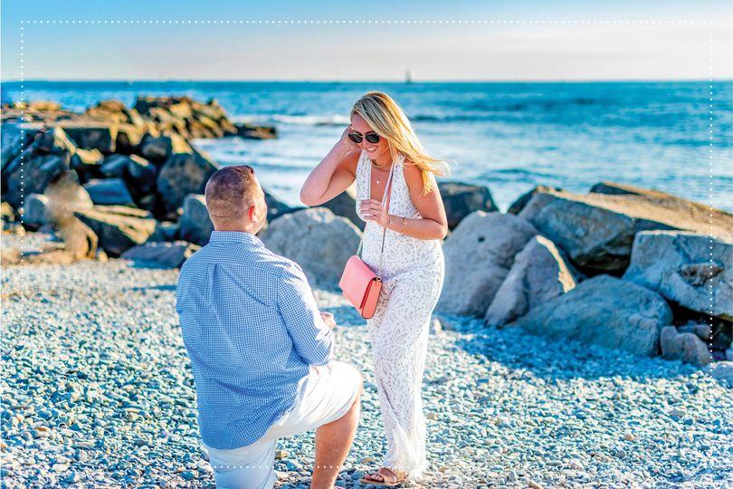 Proposal, Cliffwalk-Newport,RI