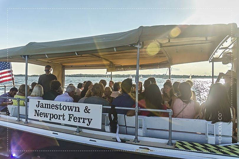 Ferry to Rehearsal Dinner