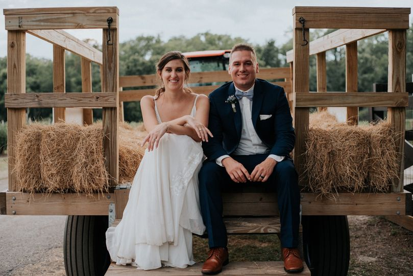 Wedding at Ever After Farms