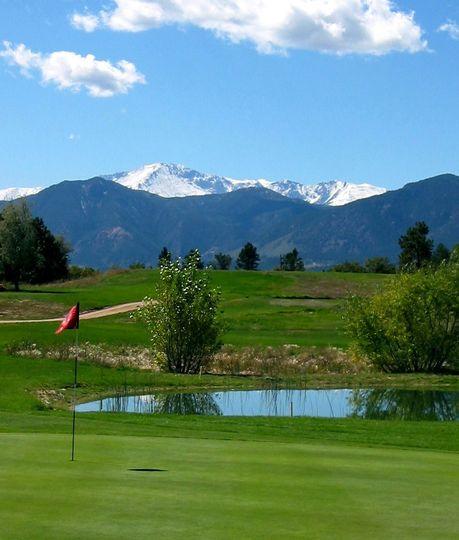 Exterior view of the Gleneagle Golf Club