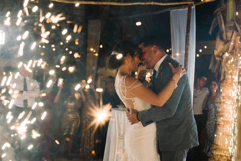Add spark to your first dance