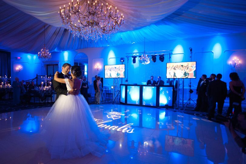 Up-lighting, DJ, Monogram, Enhanced Lighting, Flat Screen TV's with Slideshows