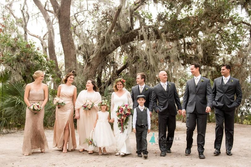 Gorgeous Boho Chic Amelia Island Wedding