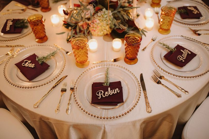 Tablescape & Guest Favors