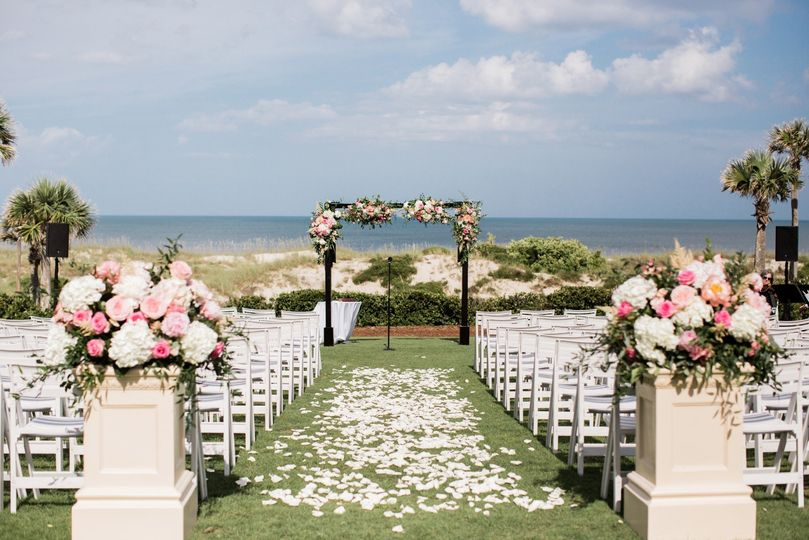Seaside Spring Wedding
