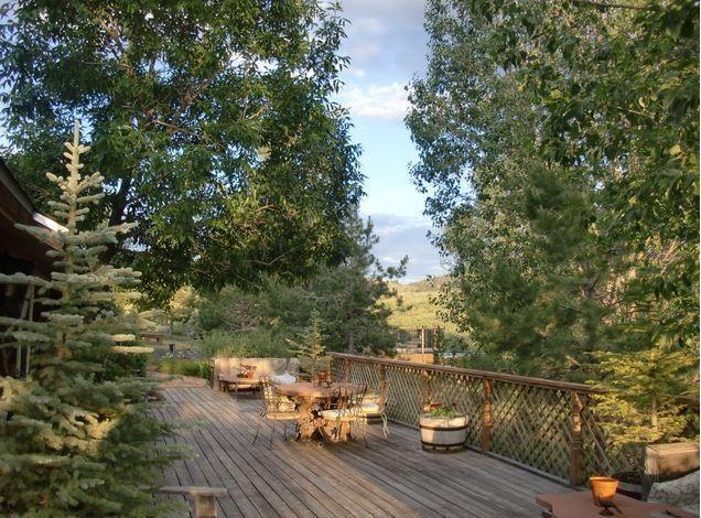 red rock ranch deck