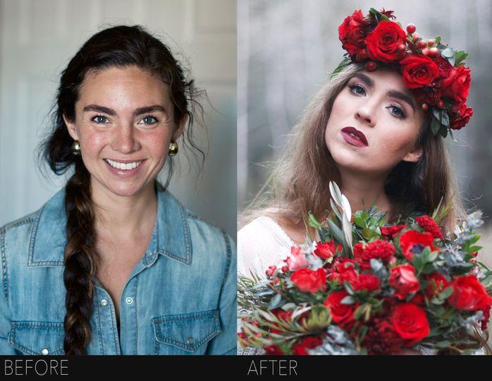 Utah hair and makeup